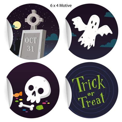 Coole Aufkleber Bestellen by 24 Coole Halloween Aufkleber Zum Gruseln Mit Geist Und