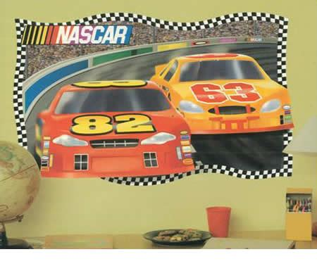 Nascar Wall Murals nascar mural in minutes home wall decoration self adhesive