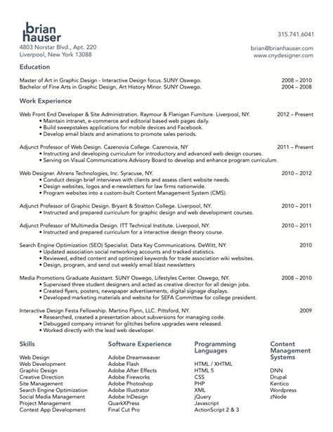 examples of graphic design resumes web templates website templates
