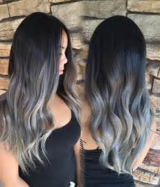 coloring grey american hair 25 best ideas about gray balayage on pinterest gray