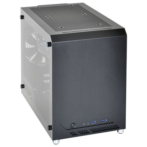 best mini itx chassis announcing the lian li pc q10wx a mini itx chassis with a