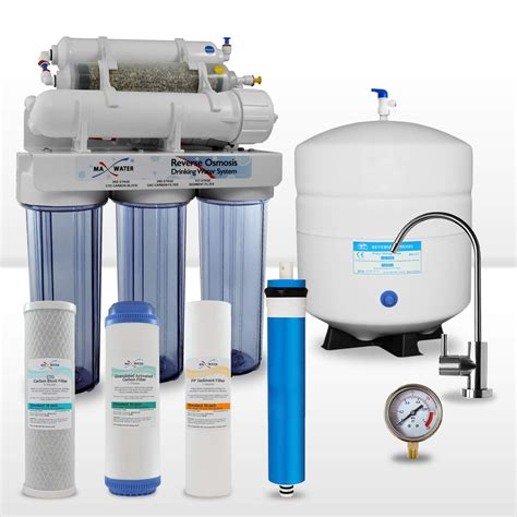 reverse osmosis filter 6 stage re mineralization reverse osmosis water system