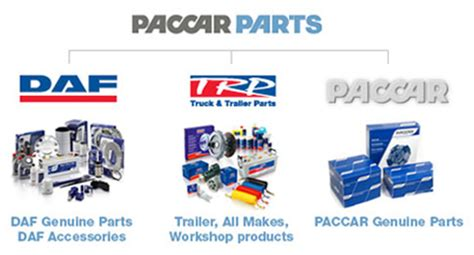 paccar truck parts paccar parts daf trucks nederland