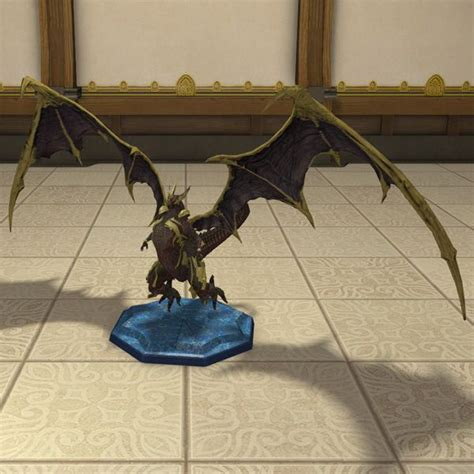 Decoration Home Interior bahamut miniature ffxiv housing tabletop