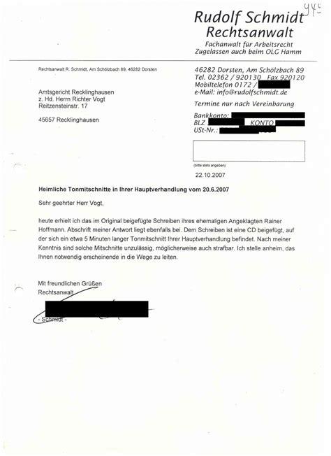 Anwalt K Ndigen Brief Rechtsanwalt Solarkritik De Wurde Abgeschaltet