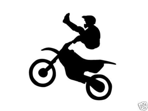 motocross bike stickers dirt bike motocross boys bedroom kids wall art decal ebay