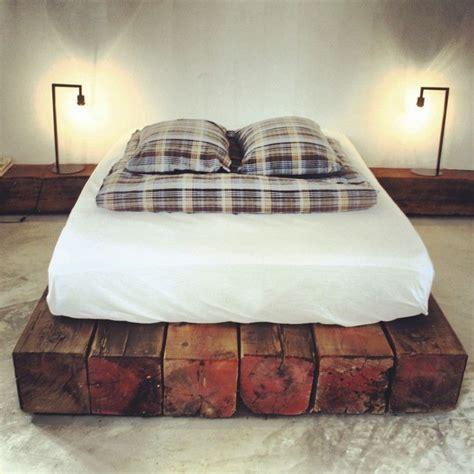 Bunk Beds San Jose Top 25 Best Rustic Wood Bed Frame Ideas On Rustic Bed Frames Rustic Wood Bed And