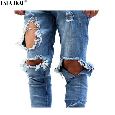 Knee Ripped Washed Premium Quality All Brand New with holes mens mx