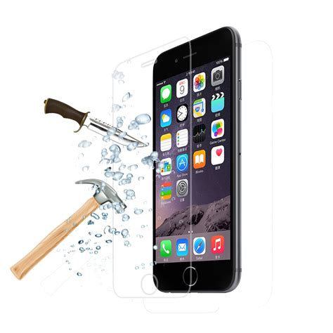 Tempered Glass Clear Iphones 7 Plus 5 5 In Belakang Kaca Bening clear tempered glass screen protector for iphone 4 4s 5 5s