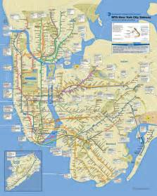 Subway Map Mta by Gallery For Gt Mta Subway Map 2012