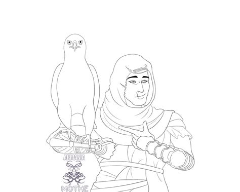 S Drawing Origin by Assassin S Creed Origins Bayek And Senu By Armaniamothe