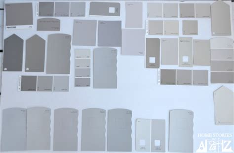 grey paint swatches gray paint color ideas tips and exles home stories