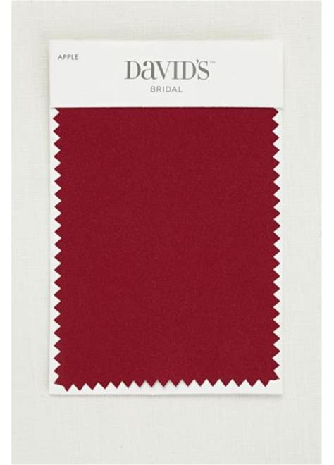 david s bridal color swatches apple satin fabric swatch davids bridal