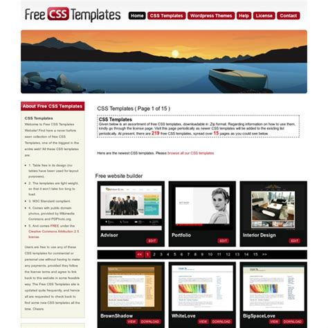 download template toko online css free css templates download free css templates