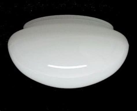 flush mount ceiling light replacement glass white glass flush mount ceiling pan light shade lighting