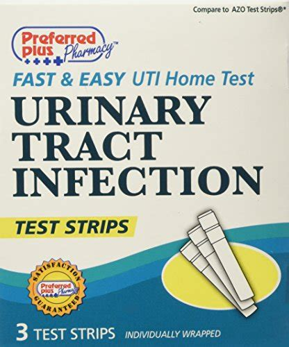 preffered plus products uti home test strips 3 count