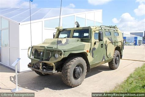 gaz tigr tigr m gaz 233114 4x4 multipurpose tactical armoured