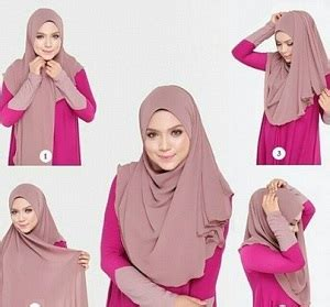 tutorial hijab segi empat simple kekinian tutorial hijab syar i segi empat simple dan kekinian