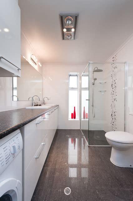 multifunctional bathroom designs  laundry space