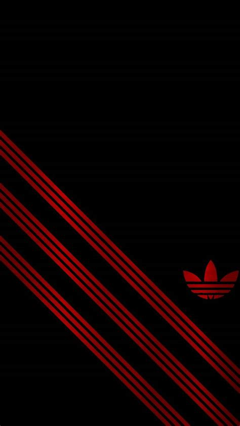 adidas wallpaper red black red adidas wallpaper by n8schro0627 zedge free