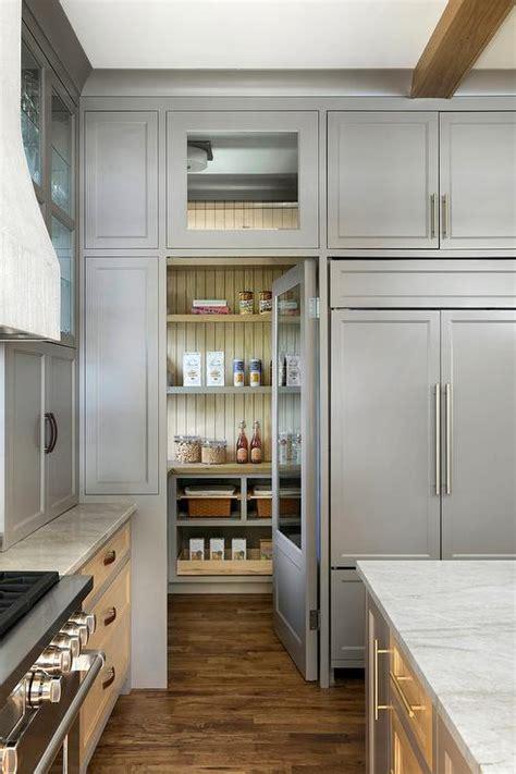 hidden walk  pantry design ideas