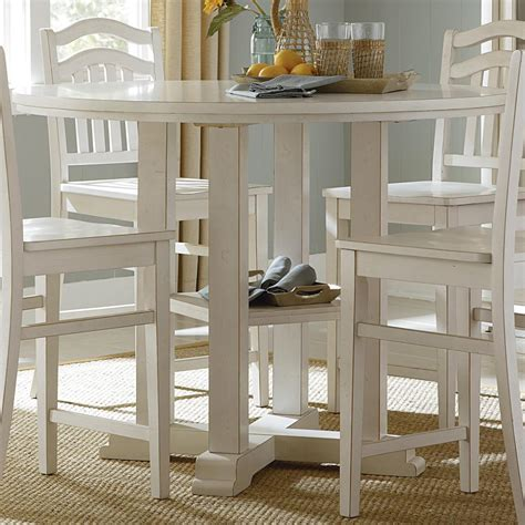 Blue Kitchen Table Set Counter Height Gathering Table By Liberty Furniture Wolf And Gardiner Wolf Furniture