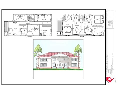 house plan plans elevation section escortsea and