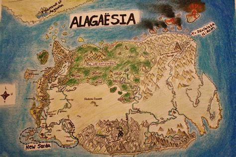 eragon map of alagaesia images