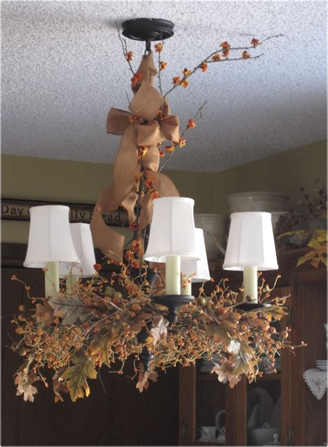 Decorating A Chandelier Top 10 Diy Fall Chandelier Decorations Top Inspired