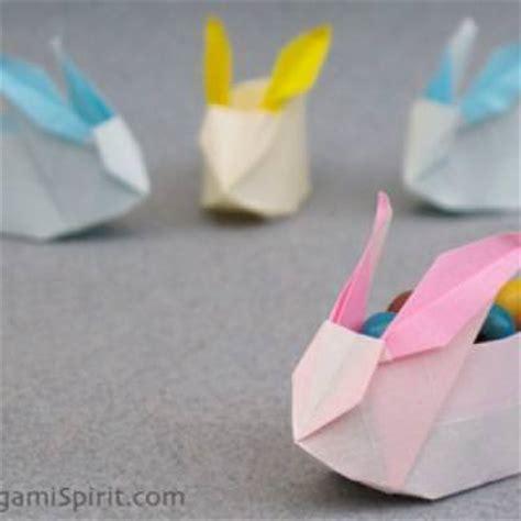 Origami Bunny Box - origami bunny box origami tip junkie