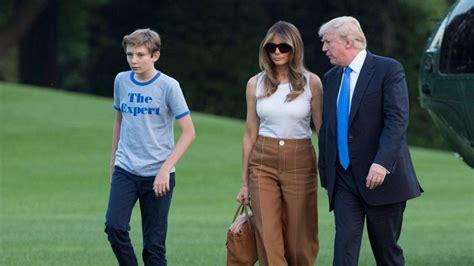 barron trump melania trump son barron move into the white house nbc4