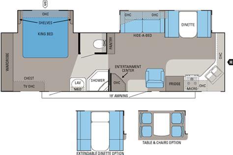 front kitchen rv floor plans 2011 eagle jayco inc