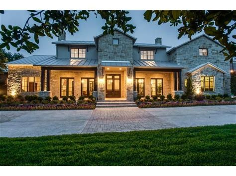 modern farmhouse elevations hill country contemporary elevation house pinterest