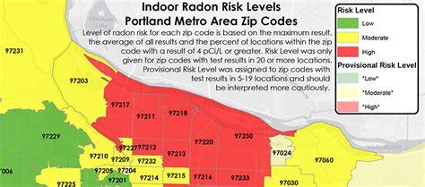 radon map portland oregon news environmental works portland or