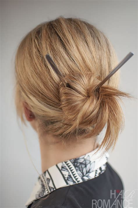 is putting hair in a bun a new fad put your long hair up without damaging it