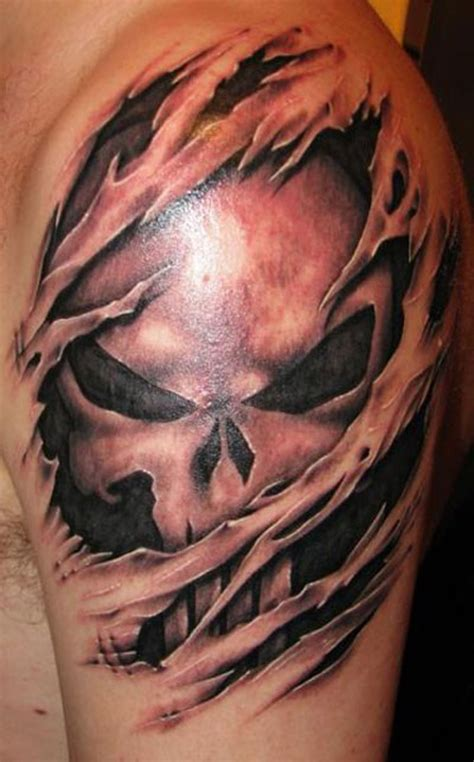 punisher skull tattoo designs 51 skull tattoos for and inspirationseek