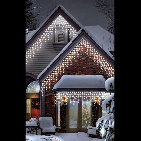 christmas led warm ice white multi function outdoor