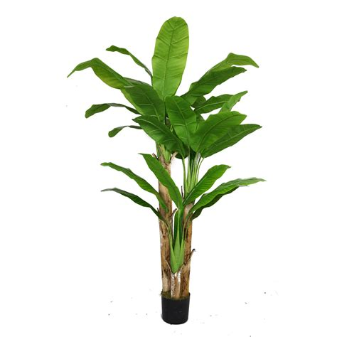 tree plant artificial banana tree with real touch