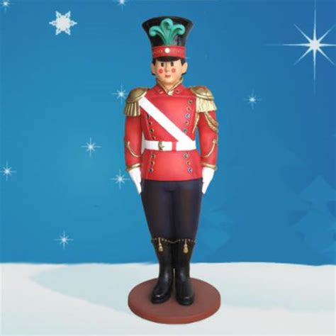 large christmas soldiers yab designs fiberglass soldier 6