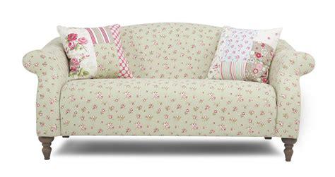 dfs doll sofa dfs doll rosebud fabric pattern midi formal back sofa