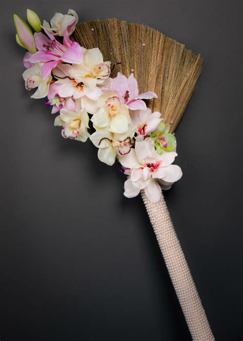 How To Decorate A Broom For A Wedding by Wedding Broom On American Wedding