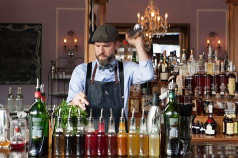 holland house nashville mixologist jeremiah blake of holland house bar and refuge nashville tn