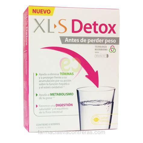 Te Detox Adelgazamiento by Xls Detox 8 Sobres Antes De Perder Peso Comprar
