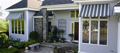 fabric awnings window door reduces temp in home up to