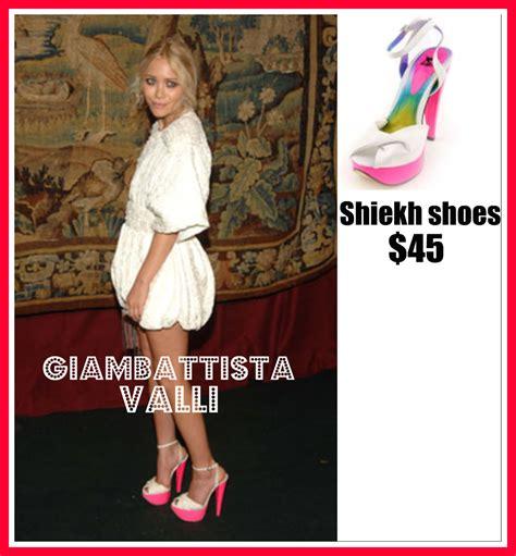 Kate And Delta Goodrem In Giambattista Valli Who Wears It Better by Kate In Giambattista Valli Shiekh Shoes