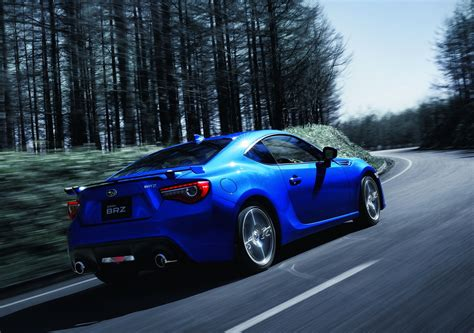 japan 2017 subaru brz gt introduced automotorblog