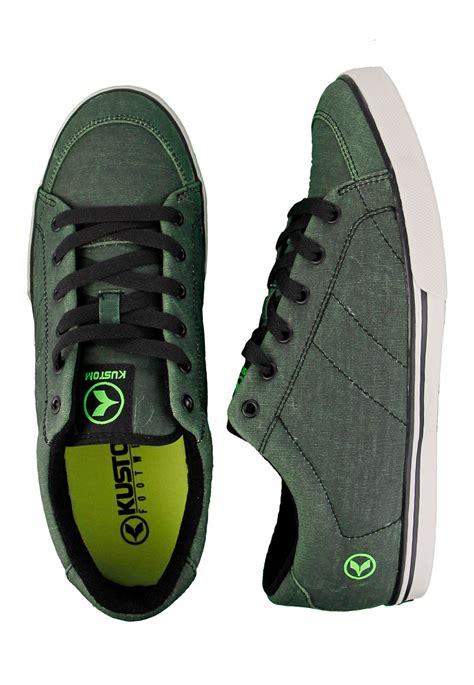color shoes kustom kramer colour change black to green shoes