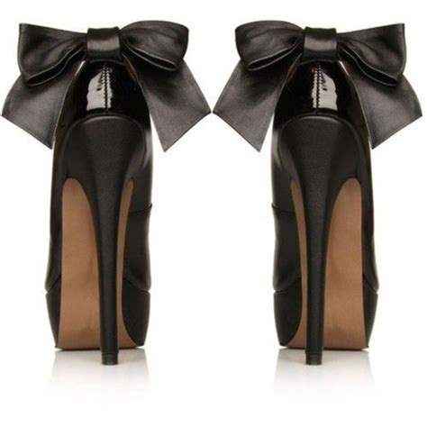 high heels with bows on the back black high heels with bow on back www pixshark