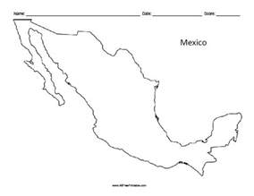 printable map of us and mexico printable mexico map printable maps