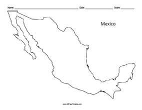 printable mexico map printable maps